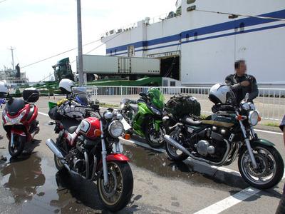 おくさんとダンさんのバイク.jpg